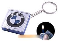 Зажигалка карманна-брелок квадрат BMW №2312-2 SO