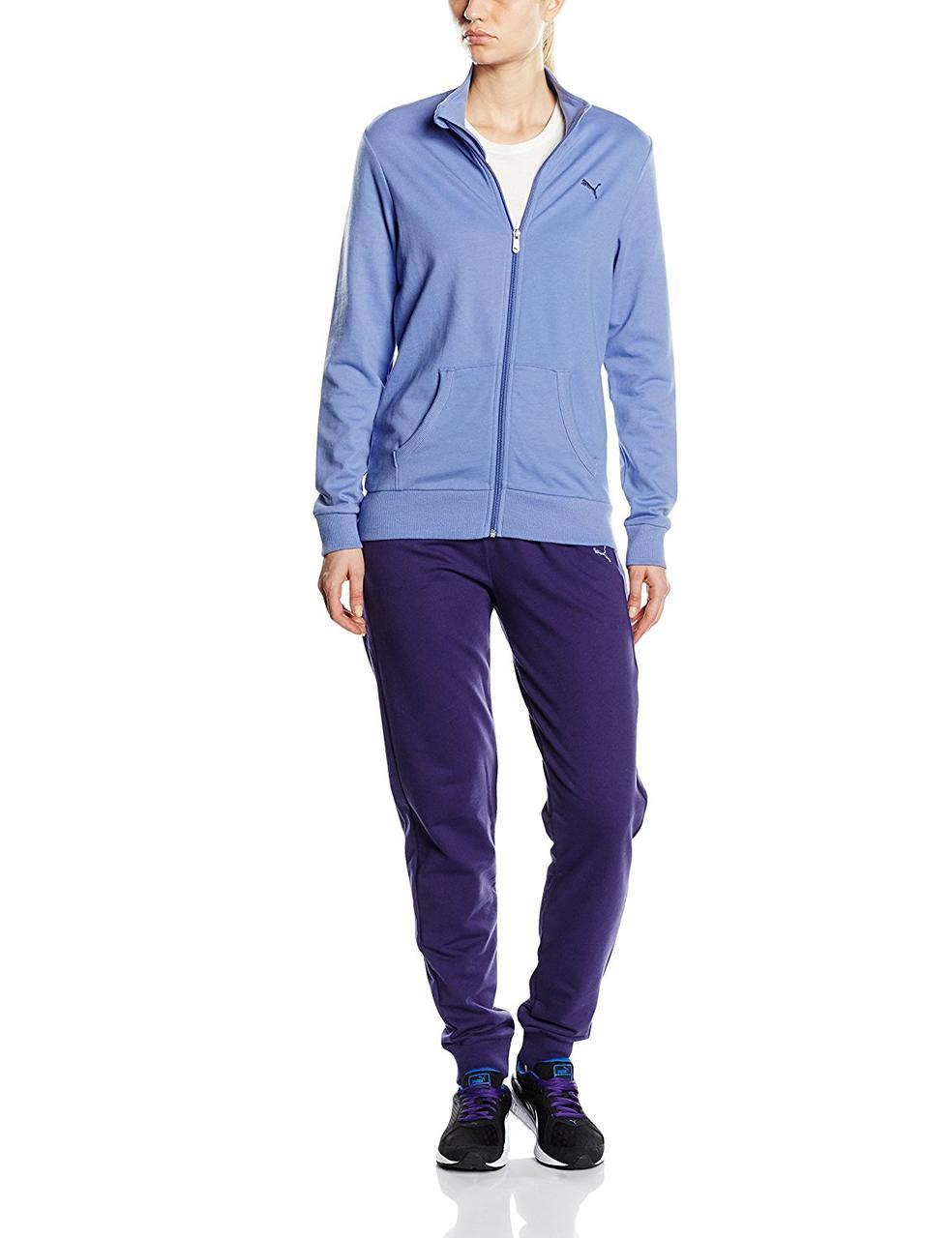 Костюм спортивный женский Puma Women's Tracksuit Sweat Suit 831824 40 пума