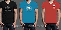Футболка с логотипом (1 цвет нанесения, футболки Fruit of The Loom)