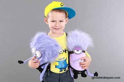 Игрушка Миньон злой фиолетовый из Гадкий Я, новый дизайн, 35 см. злой миньон, фиолетовый миньон