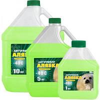 Антифриз Aляska Antifreeze -40 зеленый 1л