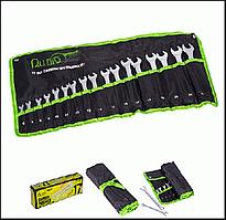 Набор ключей комбинированных 17 предметов 6-22 мм Alloid НК-2005-17М