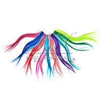 Пряди из искусственных волос на клипсе, более 10 оттенков