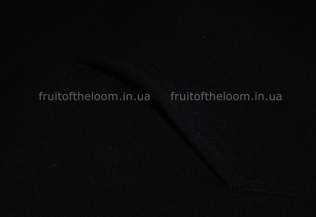 Чёрная женская премиум толстовка с капюшоном на замке