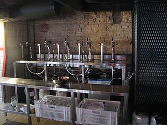 Система распределенных станций пивного розлива в ресторане ПРАВДА, Львов, 2015 год 10