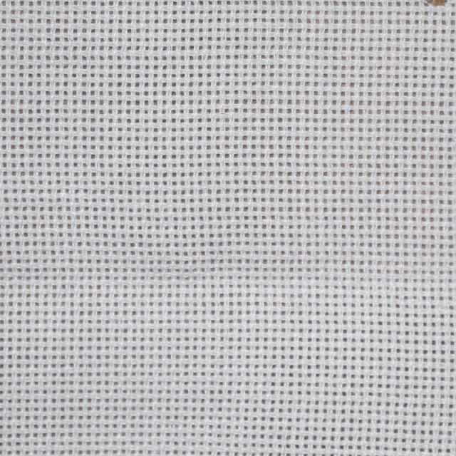 Белая ткань для вышивки 100% Полиэстр 65х60 ТВШ-29 1/1