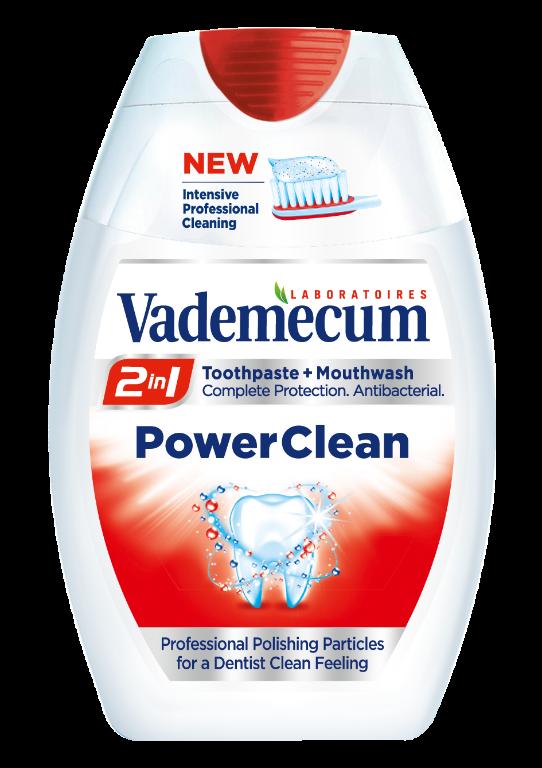 Зубна паста Vademecum Power Clean 75 мл