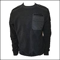 Свитер форменный флисовый черный, фото 1