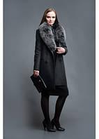 Эксклюзивное пальто с мехом песца