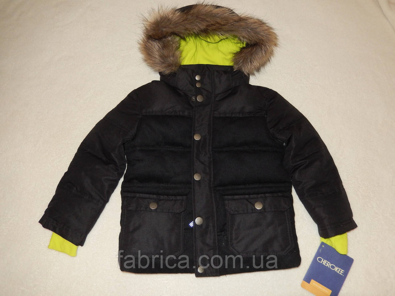 Куртка теплая, зима США 4 года CHEROKEE
