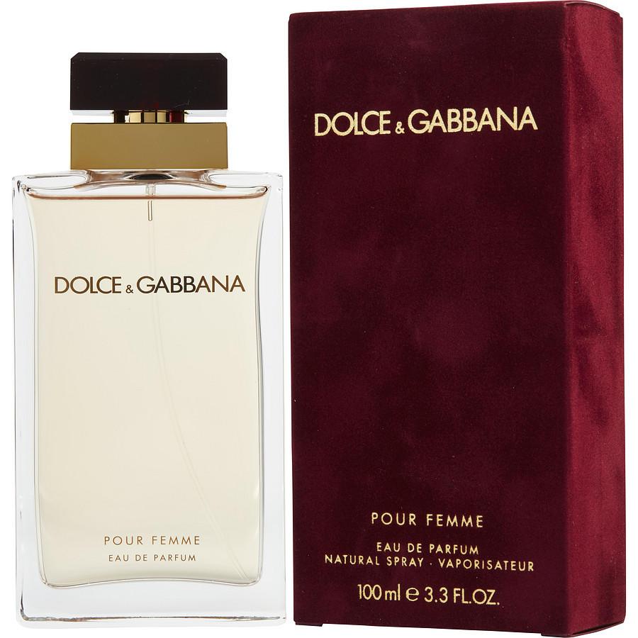 Женская парфюмированная вода Dolce&Gabbana Pour Femme (Дольче Габбана Пур Фемм) 100 мл