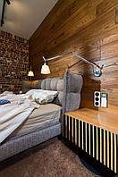 Деревянная стеновая панель для отделки помещений из дуба и ясеня.