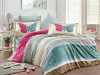 Комплект постельного белья сатин тм Hobby евро размер Nicoletta розовый
