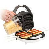 Аппарат для приготовления хот-догов и сосисок на палочке DOMOTEC тостер MS 0880 HOT DOG MAKER, фото 2