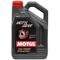 Трансмиссионное масло Motul Motylgear 75W-80 5л