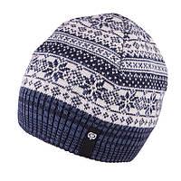 Зимняя шапка шерсть 100% для мальчика р.54-56