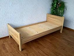 """Дубовая односпальная кровать """"Эконом"""". 1"""