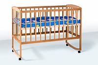 Кровать детская с дугами колеса