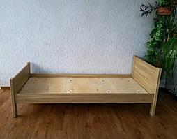 """Дубовая односпальная кровать """"Эконом"""". 3"""