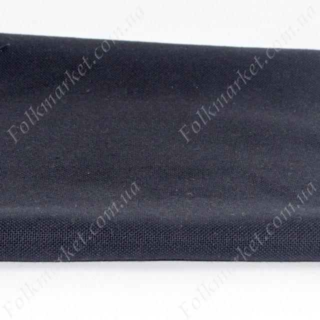 Черная ткань для платья Оникс ТПК-190 3/11