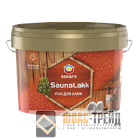 TM Eskaro Saunalakk - лак для бани ( ТМ Эскаро Сауналак),2.4 л.