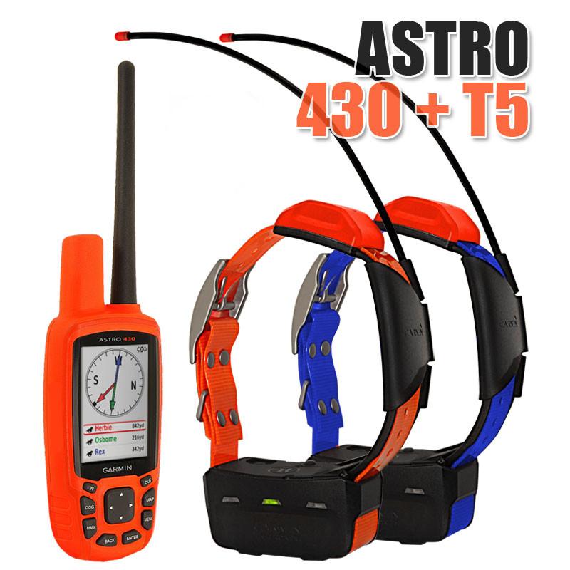Garmin Astro 430 + 2 ошейника Garmin T5/T5 mini. Навигатор для охоты.