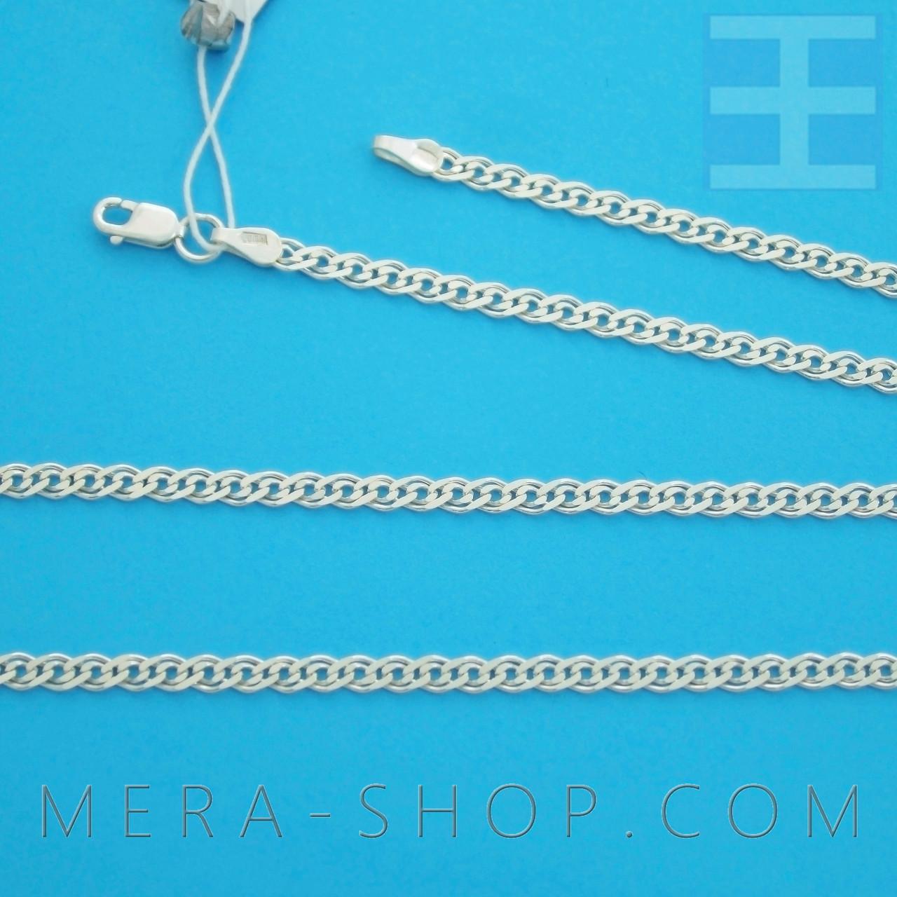 """Серебряная цепочка плетение """"Нонна"""" арт.1 (45 см)"""