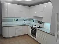 Кухня на заказ BLUM-044 краска по RAL каталогу