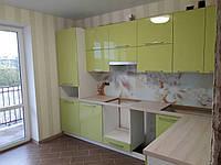 Кухня на заказ BLUM-045 краска по RAL каталогу