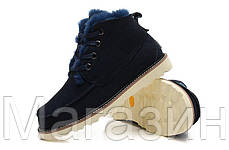 Мужские угги UGG Australia David Beckham Boots Угги Австралия ботинки Девид Бекхем синие, фото 3
