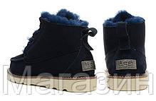 Мужские угги UGG Australia David Beckham Boots Угги Австралия ботинки Девид Бекхем синие, фото 2