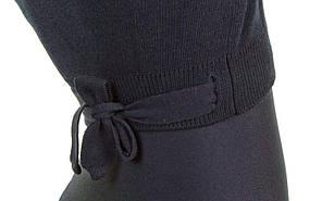 Кофта розігріву Акрил довжин. рукав чорна CO-9031-B, фото 2