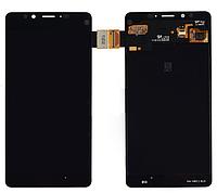 Дисплеи (экран) для Microsoft (Nokia) 950 Lumia Dual Sim + с сенсором (тачскрином) черный Оригинал