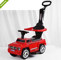 Машинка Каталка  музыкальная 2 в 1 Mercedes AMG M 3597B-3 красная ***