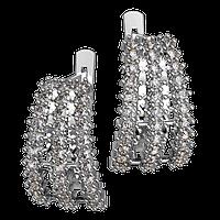 Серебряные серьги Сон.