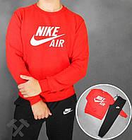 Спортивный костюм с красной кофтой Nike