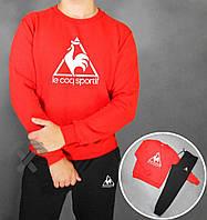 Спортивный костюм мужской с красной кофтой