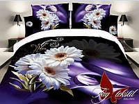 Белье постельное микрасатин. Постель из микросатина с 3d эффектом. 2-спальный комплект постельного белья.