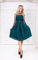 Платье-сарафан женское 1447 бутылка
