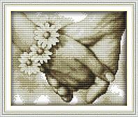 """Набор для вышивания крестом картина """"Любовь"""""""