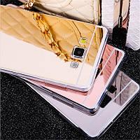 Зеркальный силиконовый чехол для Samsung Galaxy J1 J120 2016, фото 1
