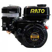 Двигатель бензиновый RATO R210RV (+понижающий редуктор)