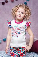 Трикотажная пижама на девочку