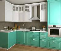 Кухня на заказ BLUM-052 краска по RAL каталогу