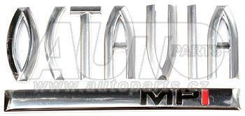 Надпись  OCTAVIA + MPI