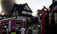 Композитная черепица TILCOR спасает польский дом от разрушительного пожара