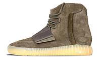 Женские кроссовки Adidas Yeezy Boost 750 Khaki/Brown