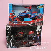 Квадроцикл с супергероем на р/у в коробке 29х18х16 см
