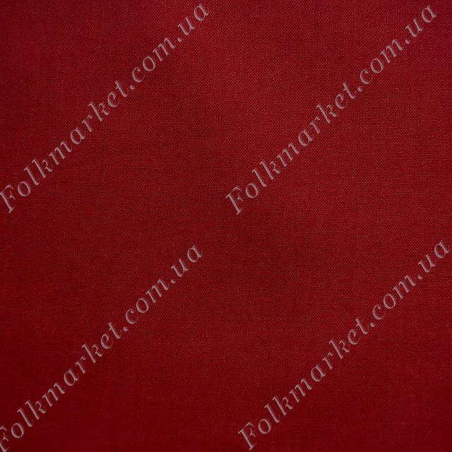 Красная ткань для костюмов Поплин ТПК-239 1/17