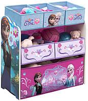 Комод / ящик / органайзер для детских игрушек Delta Холодное сердце